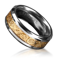 The Ring of the Nibelungs Richard Wagner Der Ring Des Nibelungen Tungsten Ring Men's Jewelry Free Shipping