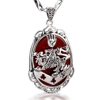 The Twilight Saga The Vampire of Cullen Clan Badge Necklace Pendant - 925 Sterling Silver jewelry