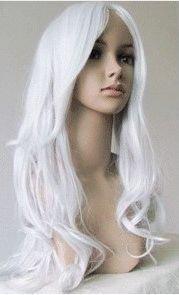 White Long Hair Wigs 9