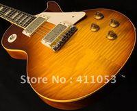 Free shipping New arrival  Custom guitar Pale Whiskey Burst Mahogany Electric Guitar
