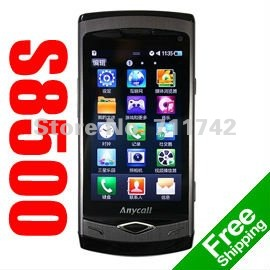 S8500 Wave Original Brand Unlocked Phone,3G Smartphone, WIFI, GPS, 5MP Camera, 3.3inch Capacitive Touchsreen,Free Shipping