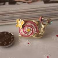 The snail finger ring Fashion unique ring   TQ-4.99