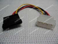 FreeShipping500PCS/lot SATA Power Cable IDE TO SATA power cable