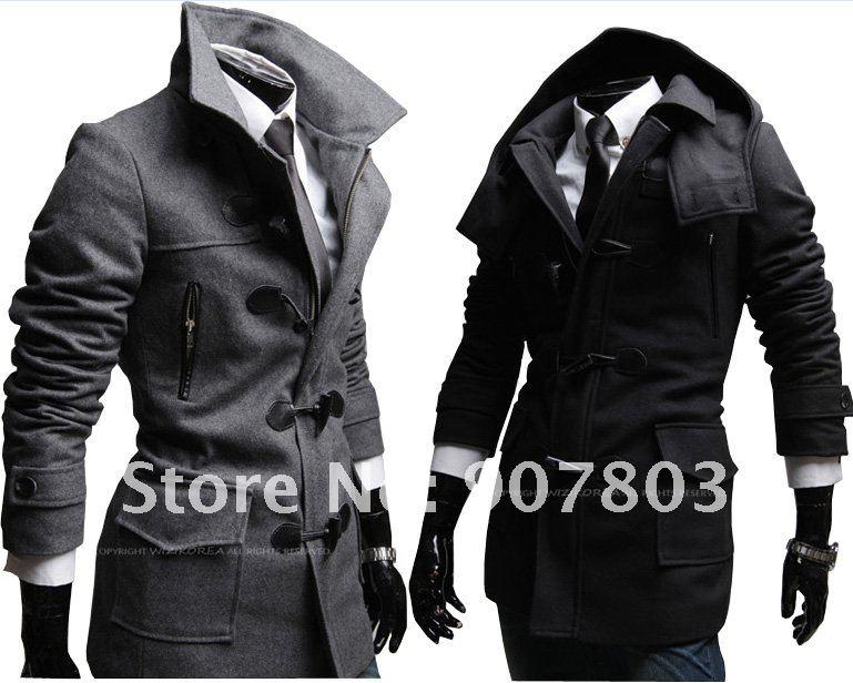 Black Mens Coat