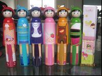 Fruit doll  sun protection  cartoon  advertising  bottle  logo umbrella
