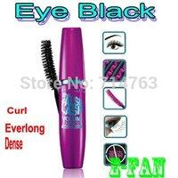 Dropship Fashion make up BLACK Lengthening Waterproof Mascara Cream Beautiful womean sexy eye Lashes Lash x 2  -- free shipping