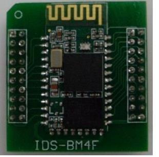 Free shipping !! Bluetooth serial port the the IDS-BM4F (pin Bluetooth module) development board(China (Mainland))