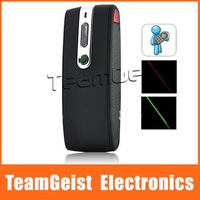 3-in-1 2.4G Wireless Dual Laser Presenter Ultra Power Green RED Laser Pointer Free Shipping