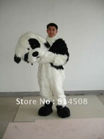 Lovely Pekingese Dog Mascot Costume Halloween Cartoon Party Plush toy Fancy Dress Suit Free Shipping