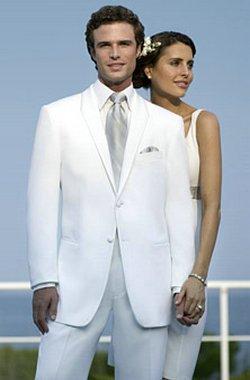 Free Shipping White Popular Fashion Wedding Tuxedo Groom Wear Men Suit Business Suits MS25(China (Mainland))