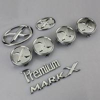 free shipping 1set Toyota RuiZhi car badge refitting MARK X car badge marks vehicle refitting car sticker