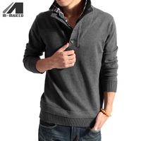 Free shipping Autumn fashion men's wear two sweaters