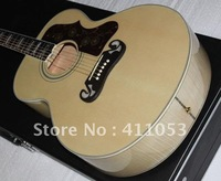 Free shipping New arrival  style J 200 CUSTOM Artist Ebony fingerboard Acoustic Guitar