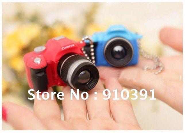 Freeship/EMS,Retail pack flash camera Telephoto lens key chain,LED key ring light,subminiature pendant as phone bag pendant!(China (Mainland))