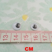 1000 Wiggle Google Eyes Animal Bear Doll Movable Card Craft 9mm 500pairs