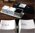 Novelty Keyboard Cup/ Fashion Cup Set (ctrl del alt 3 pieces)/ Gift For IT Geek