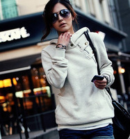 Fashion  autumn and winter women's  long-sleeve hoodie,causual  sweatshirt Coat,Free shipping H492