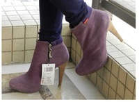 201 2 fashion woman winter and autumn  high heel short boots shoes