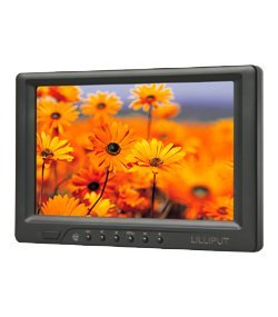 """Lilliput 669GL-70NP/C/T 7"""" Inchs Touch Screen  Monitor,With HDMI/DVI input,Auto Switch 16:9 For CarPC"""
