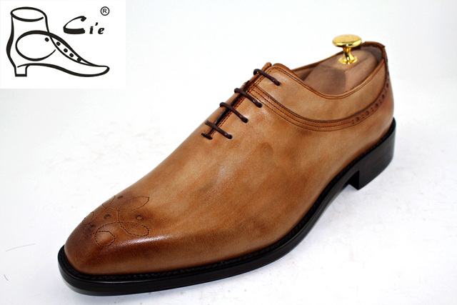 Cie lacing carved leather sole shoes italian european version of the fashion business formal men(China (Mainland))