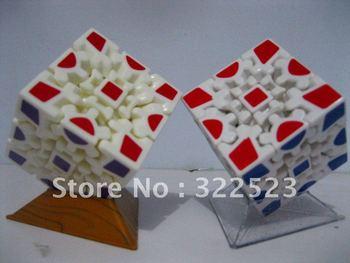 Best selling!! Children's magic 3D puzzle cube toy intelligence magic children plastic toys Free shipping 1 pcs