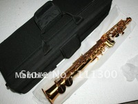 Wholesale - best Newest Brand High Quality 62 Soprano Saxophone Golden Advanced IN STOCK