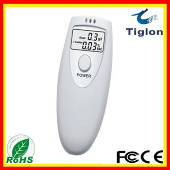 Personal Digital Alcohol Tester breath analyzer Alcohol Detector with  LCD display  PFT-641