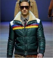 Мужской пуховик Fur Collar Man's Down Coat Winter Warm Down Jacket For Men Outwear Down M-XXL
