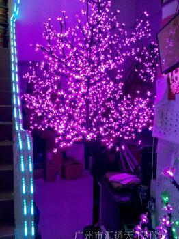 3 meter LED peach tree/lights/led cherry blossom trees