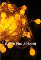 yellow10 m 100 star LED Christmas waterproof activity background ball steep light