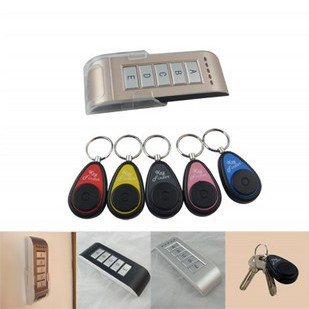 Wireless key finder electronic key anti-lost the device alarm phone valuables search 5 receiver(China (Mainland))