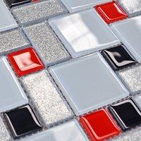 Crystal glass tile powder art pattern wall tile backsplash wholesale bathroom shower tile mirror sheets design mosaic deco mesh