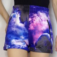 2012 Women Galaxy Dress,Fashion Colorful Space Universe Digital Printing Dresses,6 colors, free shipping