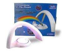 DHL Free shipping  2011 Hot sale Holiday gift Stonepalette Rainbow Light Rainbow Projector mini led light