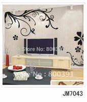 JM7043 Free shipping:vinyl Wall sticker TV wall decals/room sticker/window stickers home decoration , JM7043