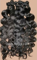 IN STOCK    100% indian virgin remy hair body wave top quality DHL free shipping