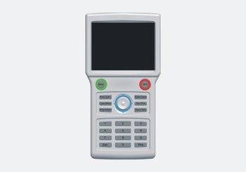 "Free shipping!!Brand 3.5"" Handheld PTZ Keyboard Controller CCTV Tester 12V Output 3500mAh RS485"