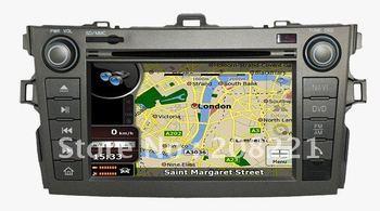 newest autoradio for toyota corolla multimedia radio RDS 3G GPS navigator