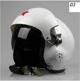 New Fashionable TK Chinese Military Air Force Jet Pilot Open Face Motorcycle Helmet