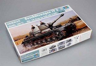 "Trumpeter Model 00373 1/35 Heuschrecke IVb ""Grasshopper"" 10.5cm le FH 18/1 L/28 auf Waffentrager IVb tank model kit(China (Mainland))"