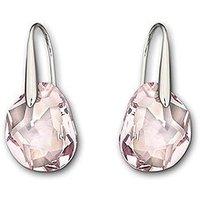 Wholesale Austrian Crystal 856299 Galet Light Amethyst Pierced Earrings Free Shipping Sale