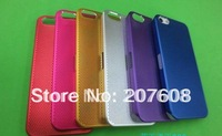 300pcs/Lot!Back Cover,Latticed Shell Case For Iphone5,Full Color Protect Cases For IPhone5,Protect Case For Iphone 5
