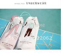 Free shipping wholesale 30 sets/lot travel storage bag, underwear bag,(2pcs/set)