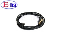 5ft 1.5m Gold DVI Male to HDMI Cable for satellite receiver / LCD HDMI to DVI cable Free shipping post