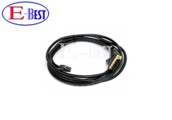 5ft 1.5m Gold DVI Male to HDMI Cable for satellite receiver / LCD HDMI to DVI cable Free shipping post(China (Mainland))