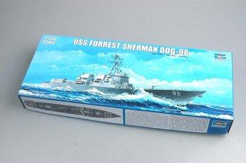 Trumpeter model 04528 1/350 USS Forrest Sherman DDG-98 plastic model kit