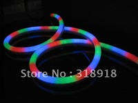 Free Shipping, LED Neon flex light, 80LEDs/M,Size: W 14*H26mm,7Colors. Waterproof. LED neon Tubes, LED neon rope light