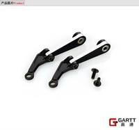 Freeshipping  GARTT GT550 Wash-out Control Arm Set  100% fits Align Trex 550 RC Helicopter Big Sale