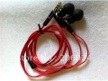 3.5mm In-Ear Red Headphone Headset Earphone Earbuds For MP3 MP4