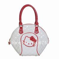 hot selling women's hello kitty handbags patent leather handbags fashion handbags  H01